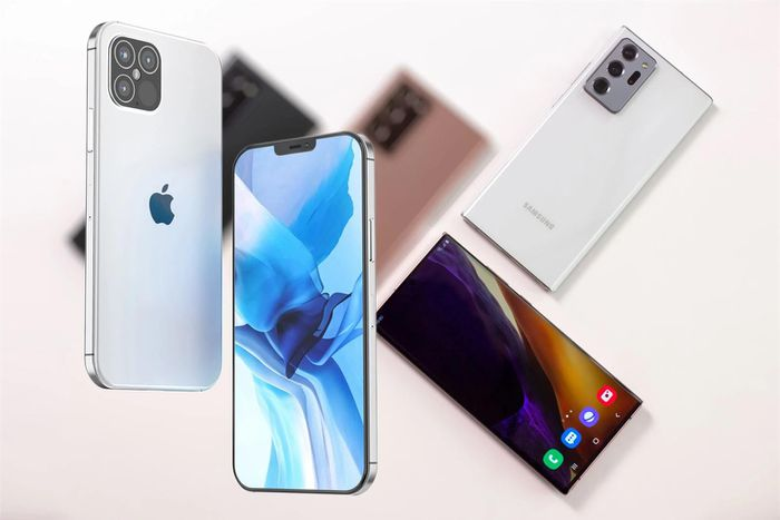 So sánh sơ bộ iPhone 12 Pro Max và Samsung Galaxy Note 20 Ultra
