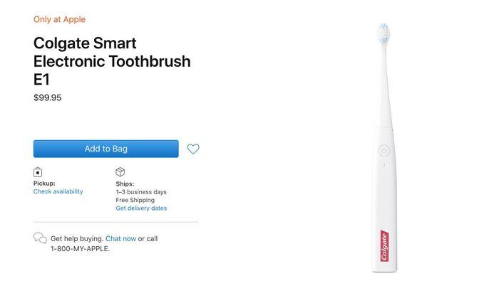Bàn chải đánh răng của Apple kết nối với iPhone hoạt động thế nào?