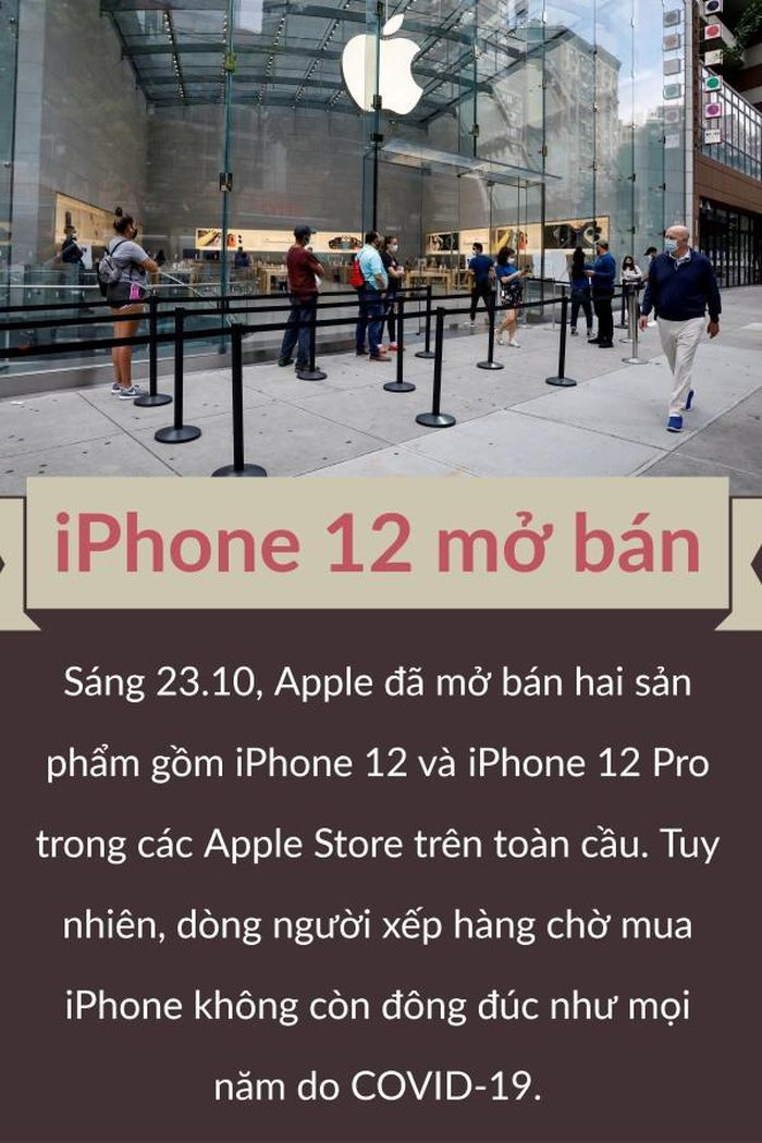 IPhone 12 chính thức bán trên Apple Store toàn cầu, Huawei ra mắt loạt smartphone Mate 40