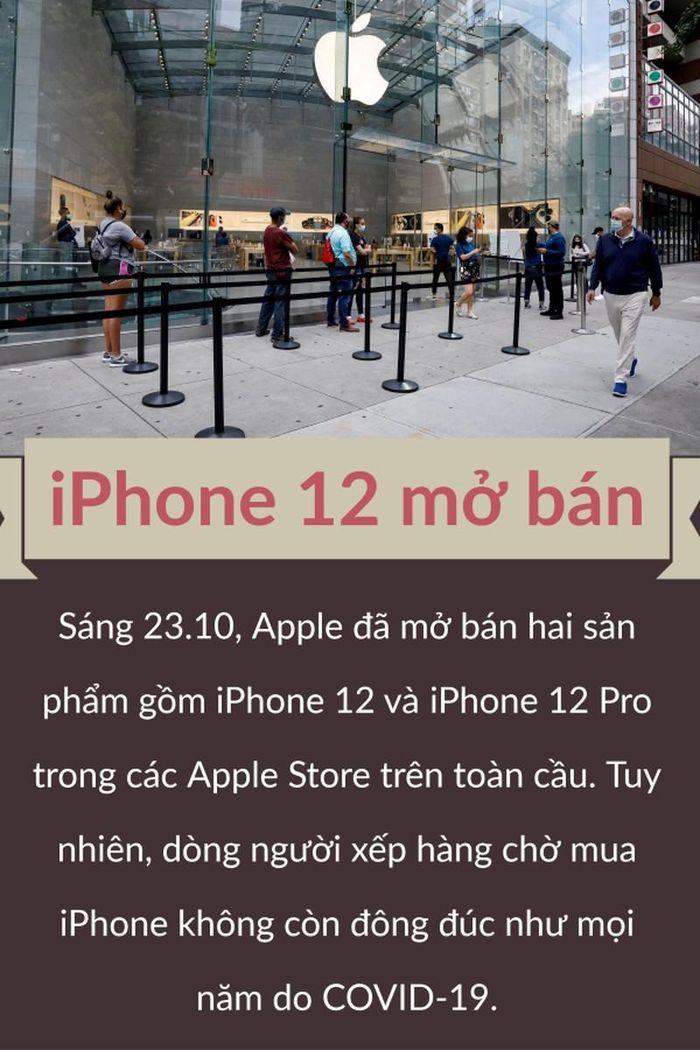 IPhone 12 chính thức bán trên Apple Store Huawei ra mắt Mate 40
