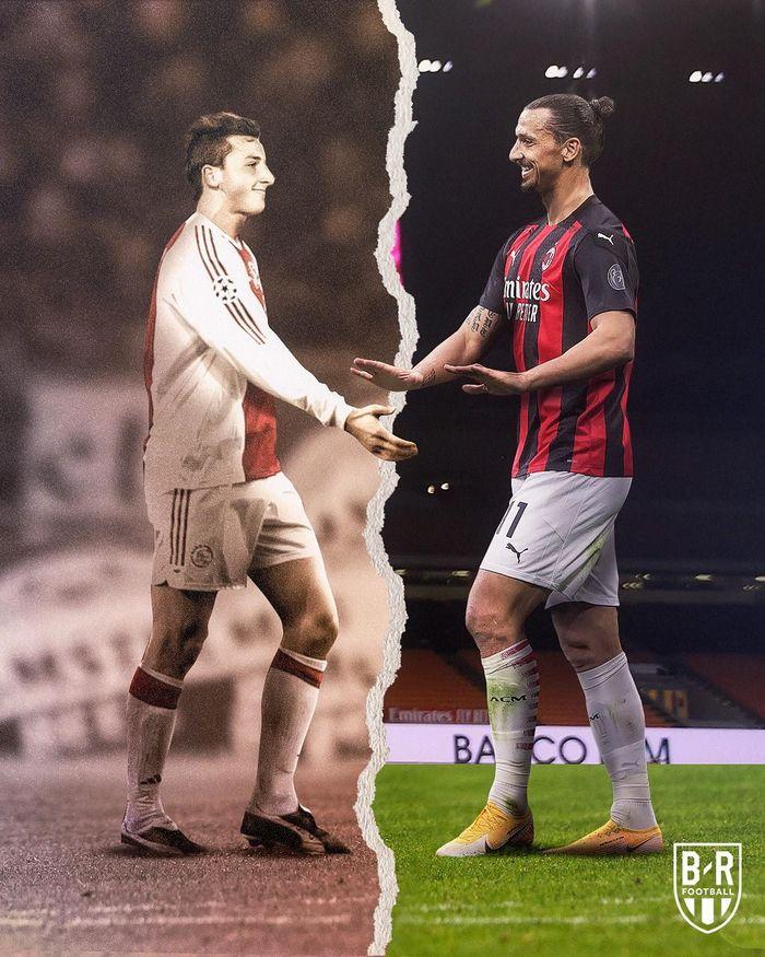 Ảnh chế: Ibrahimovic không ngừng ghi bàn ở tuổi 39, AC Milan lên đỉnh Serie A
