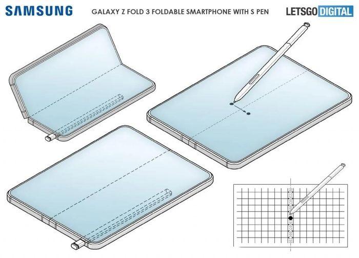 Samsung Galaxy Z Fold3 có bút S Pen?