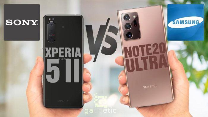 Xperia 5 Mark 2 và Galaxy Note 20 Ultra: Chọn 'tân binh' của Sony hay 'trùm cuối' Samsung?