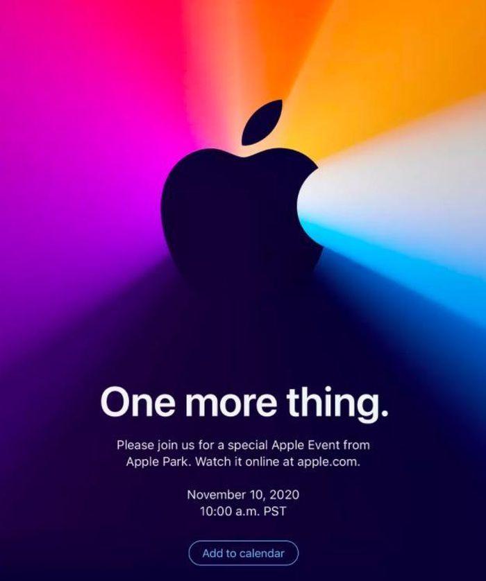 Apple xác nhận tổ chức sự kiện đặc biệt vào ngày 10/11