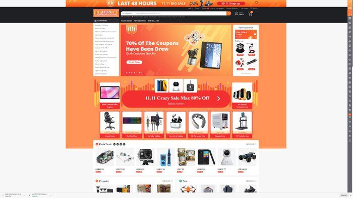 11-11 Sale bùng nổ trên Banggood với nhiều thiết bị độc lạ Việt Nam không có
