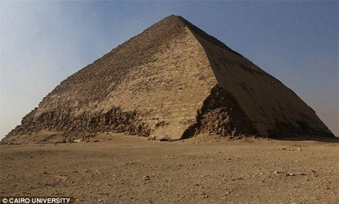 Hình ảnh 3D về cấu trúc bên trong kim tự tháp lần đầu được tiết lộ - ảnh 3.