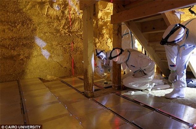 Hình ảnh 3D về cấu trúc bên trong kim tự tháp lần đầu được tiết lộ - ảnh 4.