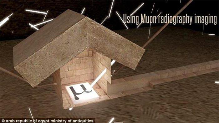 Hình ảnh 3D về cấu trúc bên trong kim tự tháp lần đầu được tiết lộ - ảnh 5.