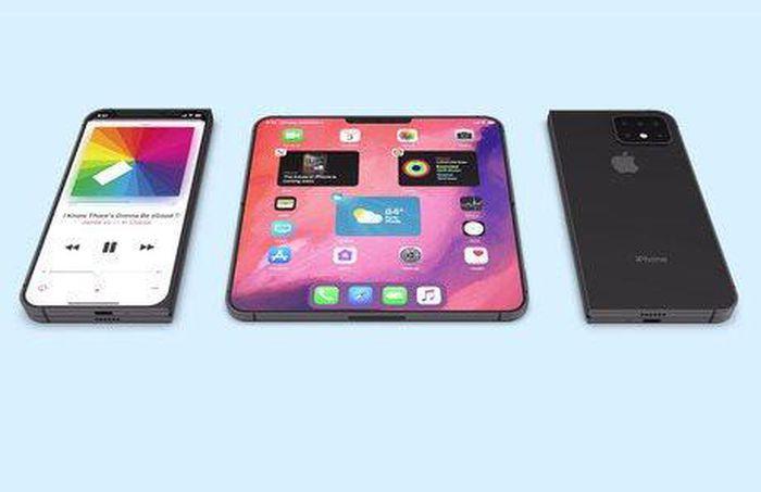 Apple đã bắt đầu thử nghiệm iPhone gập