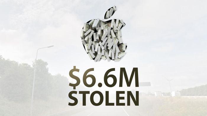 Cứ ngỡ 'Phi vụ triệu đô' chỉ có trên Netflix, ai ngờ xe chở hàng của Apple cũng bị cướp với thiệt hại lến đến 6 triệu USD