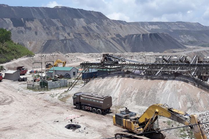 Dây chuyền sản xuất cát nhân tạo của Công ty CP Thiên Nam