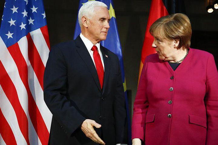 Меркель отказалась провоцировать  Москву по указке Вашингтона