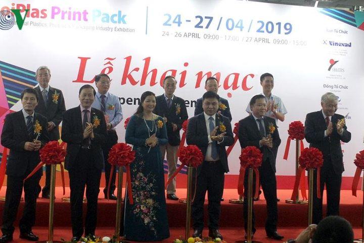 Triển lãm Hanoi Plas Print Pack 2019 trở lại với quy mô lớn - Báo VOV