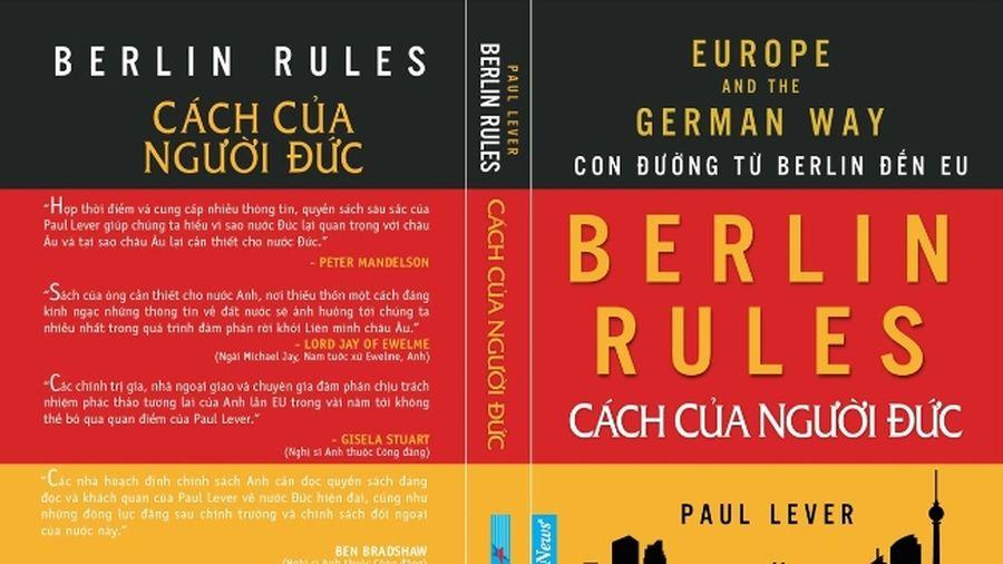 Kết quả hình ảnh cho Cách của người Đức Berlin Rules