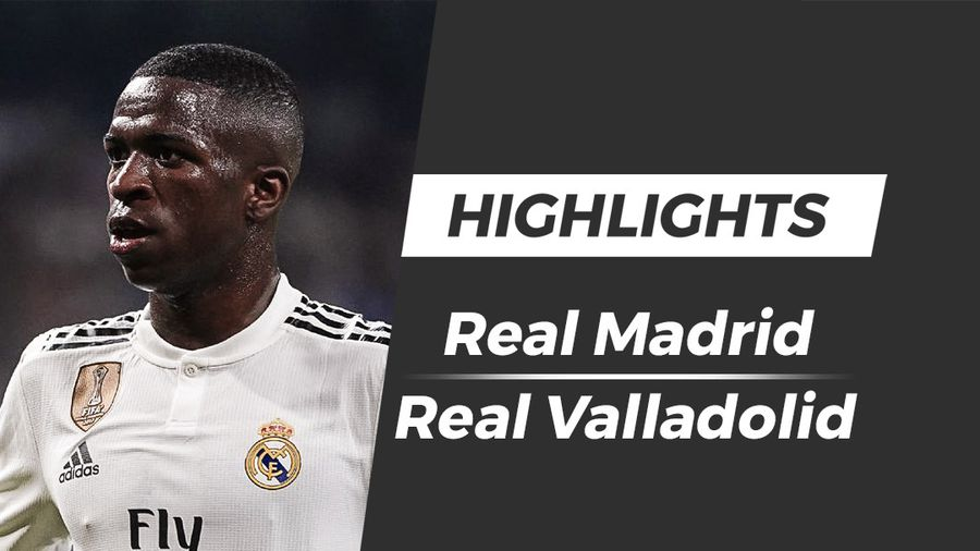 Highlights Real 2-0 Valladolid: Sao trẻ 18 tuổi ghi bàn
