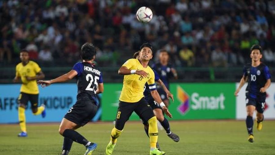 Kết quả Campuchia 0-1 Malaysia: Thế trận hấp dẫn