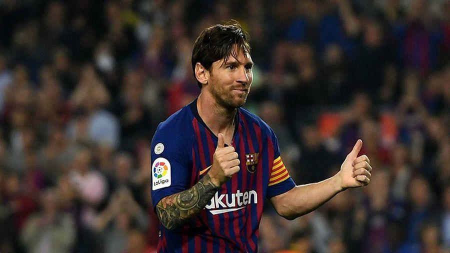Messi sắp theo kịp Mbappe, cho Ronaldo 'hít khói'