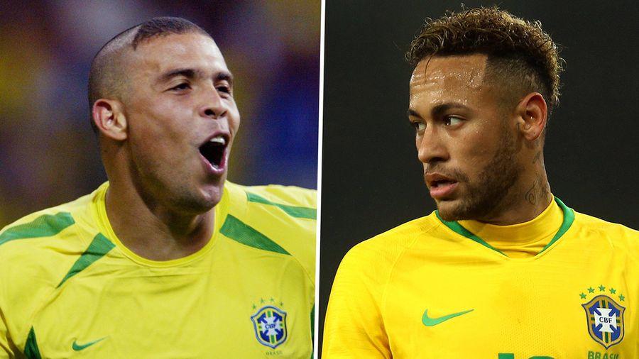10 cầu thủ xuất sắc nhất lịch sử Brazil: Neymar ngả mũ trước Ronaldo