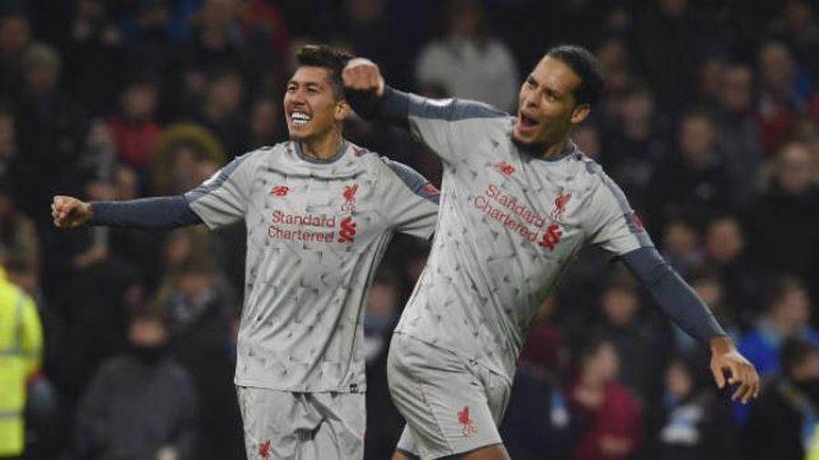 Ngược dòng hạ Burnley, Liverpool khởi đầu tốt nhất lịch sử