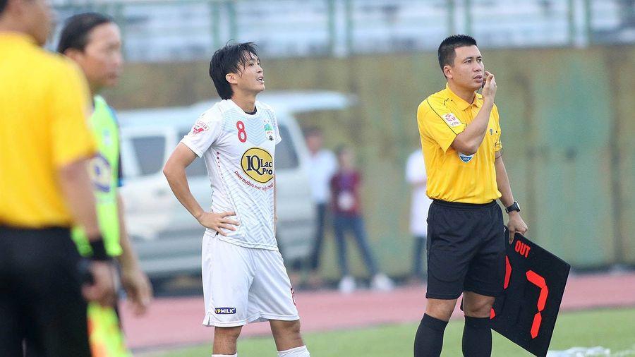 Tuấn Anh có ra sân gặp SHB Đà Nẵng chiều nay?