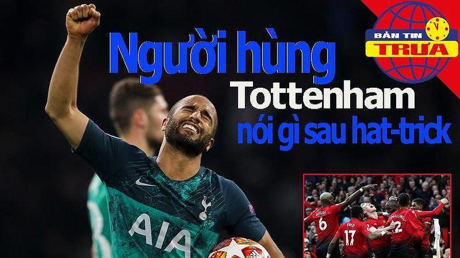 Bản tin trưa 9/5: MU sẽ nhận... 'quà' Champions League?