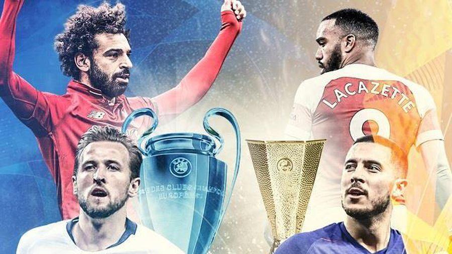 CĐV tính ngồi nhà xem chung kết Champions League và Europa League