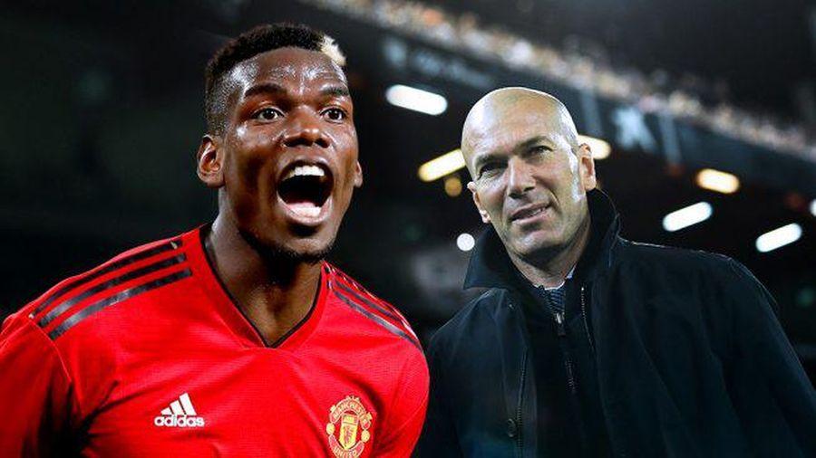 Zidane xúi Pogba nhanh chóng rời MU nếu muốn sang Real Madrid?